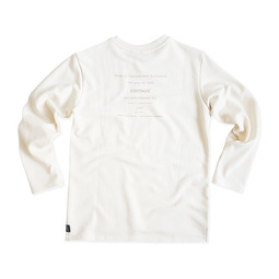[CSX™] ORGANIC COTTON SWEATSHIRT - NATURAL(printed)